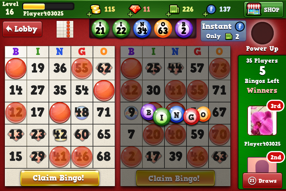 Bingo Vegas screenshot 3