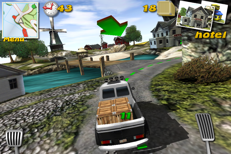 Screenshot Parcel Panic – Post Car Racer 3D